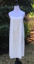 J.Crew Pintuck Sundress A7542 in White Retail:$98+Tax Size 12