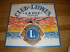 LIONS CLUB club de leones La Paz centro LP Record - Sealed