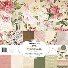 Madmoiselle Collection 12X12 Scrapbook Kit Kaisercraft Paper Crafting NEW, PK539