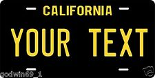 California 1963 License Plate Personalized Auto Car Custom VEHICLE OR MOPED