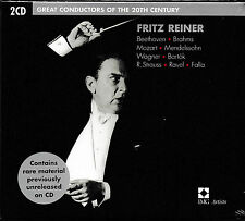 Fritz Reiner - Great Conductors of the 20th Century / 2-CD / NEU+OVP-SEALED!