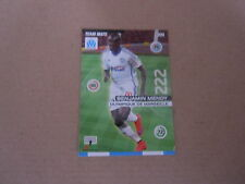 Carte Total Panini - Foot 2015/16 - N°112 - Marseille - Benjamin Mendy
