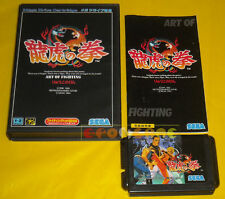 ART OF FIGHTING Mega Drive MegaDrive Md Versione Ntsc Giapponese »»»»» COMPLETO