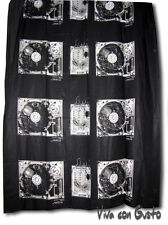 Stoff Diesel schwarz weiß Soundsystem 188x125  NEU Hst Zucchi