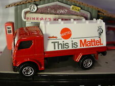 BILLBOARD TRUCK☆Red/White;This is Mattel☆2016 Matchbox CITY Excl design ☆LOOSE