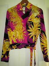 GIANNI VERSACE COUTURE  1990s VINTAGE SILK SHIRT