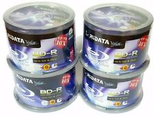 200 RIDATA Valor Blank BluRay Up to 10X Blank BD-R 25GB White Inkjet Printable