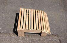 Adirondack Gartensessel Fußhocker Lärche Bausatz Deckchair Gartenstuhl
