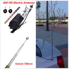 12V Universal Car AM/FM Radio Electric Power Antenna Replacement Mast Aerial Kit