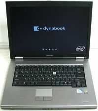 1 TOSHIBA DYNABOOK SATELLITE K31 LAPTOP NOTEBOOK POWERS UP FOR PARTS AS IS