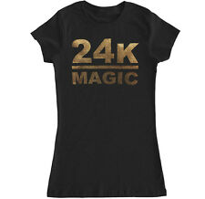 24k Magic Bruno Mars Las Vegas Music Hop Hip Rap Concert Womens T Shirt Tank Top