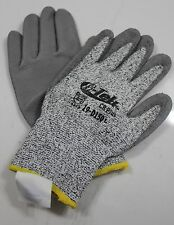 Gray Dyneema String Knit Coated Urethane Palm Glove Size Large Ten Pair
