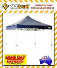 OZtrail Deluxe Gazebo 3m x 3m Camping Outdoor Shade Canopy Marquee Stall