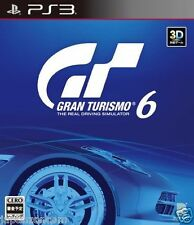 Used PS3 Gran Turismo 6 GT SONY PLAYSTATION 3 JAPAN JAPANESE IMPORT