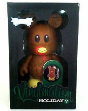 """DISNEY VINYLMATION 9"""" HOLIDAY 1 THANKSGIVING TURKEY MICKEY MOUSE COLLECTIBLE TOY"""