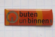 BUTEN UND BINNEN / RADIO BREMEN ........... Sender-Pin (108d)