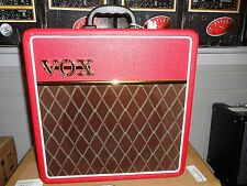 Vox AC4C1 4 Watt Guitar Amp W/ Limited Red Tolex! LOOK!