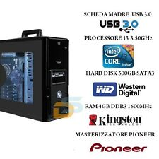 PC DESKTOP COMPLETO INTEL PROCESSORE i3 4 GB RAM HD 500 GB ASSEMBLATO COMPUTER