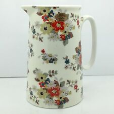 SHABBY CHIC VINTAGE STYLE CERAMIC FLOWER MILK JUG PITCHER SUMMER DAISY FINE CHIN