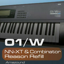KORG 01W REASON REFILL SAMPLES for NNXT & COMBINATOR