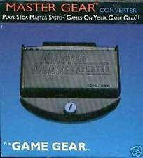 MASTER SYSTEM CONVERTER PLAY SEGA MASTER SYSTEM GAMES ON YOUR GAME GEAR CONSOLE