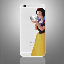 Snow White Princess Decal Vinyl Sticker for Iphone 6, 6s, 7  new color