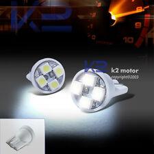 2X LED White T10 W5W 194 501 921 Light Bulbs Side Marker License Plate