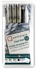 SAKURA PIGMA MICRON - ZENTANGLE TOOL SET - 10 PIECE