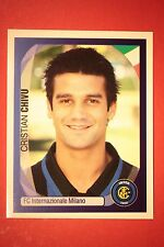 PANINI CHAMPIONS LEAGUE 2007/08 N. 164 CHIVU INTER WITH BLACK BACK MINT!!