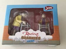 Racing Grannies Crippling Speed WIND-UP Toy  Over The Hill Novelty NIB