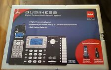 ViSYS Cordless Expandable Phone/Ans System, 2 Lines, 1 Handset .. RCA Telefield