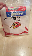 VINTAGE DUNDEE DISNEY MICKEY MOUSE BABY BATH WOVEN TERRY TOWEL WASH MIT