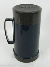THERMOS Food Jar 10 oz Soups Meals Hot / Cold Dark Blue Coffee VG Cond.
