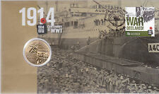2014 Centenary of WW1 1914 -1918 (War Declared)FDC/PNC - Perth Mint Coin