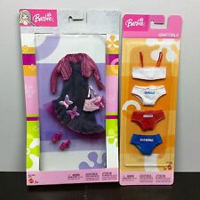 BARBIE STYLE ESSENTIALS CLOTHING LOT - NEW Fashionista Outfit Dress Shoes RARE