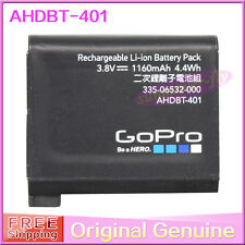 New Genuine Original Gopro AHDBT-401 battery for Hero 4 Black Silver HD Camera