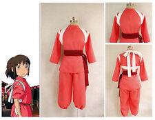 Spirited Away Miyazaki Hayao Chihiro Ogino Sen Haku cosplay costume Kids custom