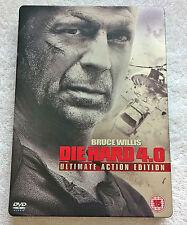 Die Hard 4.0 (DVD, 2007, 2-Disc Set) - Steelbook