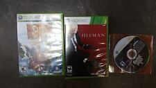 GUITAR HERO 5 OPEN SEASON AND HITMAN XBOX 360 BUNDLE