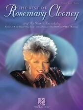 The Best Of ROSEMARY CLOONEY song book Piano Vocal Guitar Hal Leonard