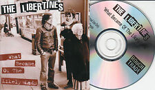 THE LIBERTINES What Became Of The Likely Lads 2004 UK 1-trk promo test CD
