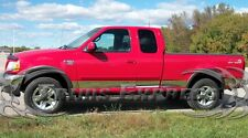 1997-2003 Ford F-150 Super/Extended Cab Short Bed Rocker Panel Trim w/Flare