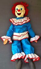 "Vintage Bozo the Clown Ventriloquist Dummy Doll 30""in. EEGEE puppet Larry Harmon"