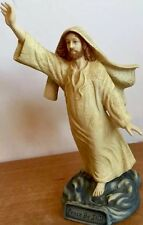 "Crystal Cathedral ""Peace be Still"" Statue By Dallas Anderson Vintage Porcelain"