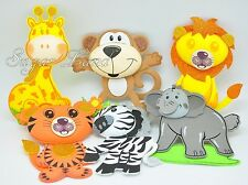 10 PCS Baby Shower Safari Jungle Decoration Foam Party Supplies Girl Boy Favors