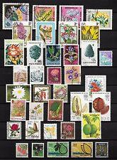 101371/ Blumen und Pflanzen - schönes Lot - o - nichts gerechnet - siehe scan
