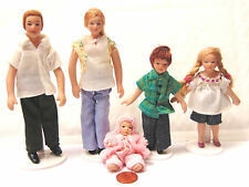1:12 Scale Modern Jean Family People Dolls House Miniature Nursery Accessory 122
