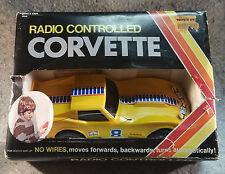 Vanity Fair RADIO CONTROLLED CORVETTE Vintage In original box...