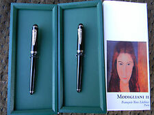 Modigliani Lmtd Ed Fountain Pen & RB Set Francois-Yves Luthier Not-Montegrappa