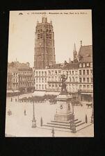 DUNKERQUE MONUMENT DE JEAN BART ET LE BEFFROI NORD - R1115